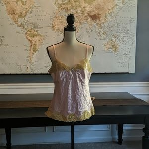 Silk camisole by Express size large